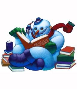 reading-snowman